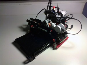 Ruzzle Lego Mindstorm Solver